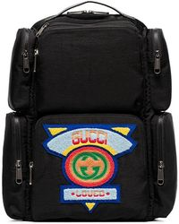 0b3b4f9483 Noir Jeans Coloris Pour Lyst En Sac Logo Versace Homme Dos Avec waqwvZ