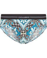 Dolce & Gabbana - プリント ブリーフ - Lyst