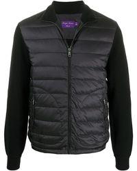 Ralph Lauren Purple Label パデッドジャケット - ブラック