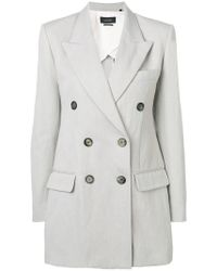 Isabel Marant - Kleigh Double-breasted Blazer - Lyst