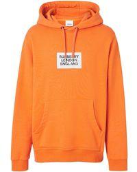 Burberry Farrows Kapuzenpullover - Orange