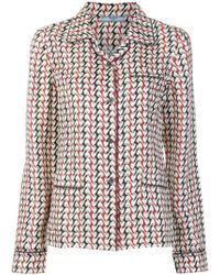 Prada Printed Pajama Set - Multicolor