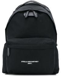 Stella McCartney ロゴ Go バックパック - ブラック