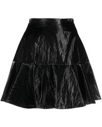 Elisabetta Franchi - Ruffle-hem Miniskirt - Lyst