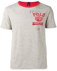 Polo Ralph Lauren プリント Tシャツ - グレー