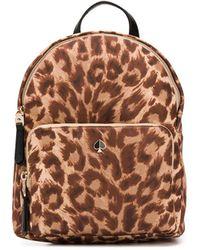 Kate Spade Leopard Print Backpack - Brown