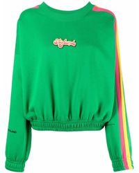 Styland Logo-embroidered Jumper - Green
