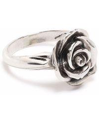 Emanuele Bicocchi Ring mit Rose - Mehrfarbig