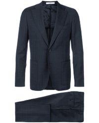 Corneliani - Check Two Piece Suit - Lyst