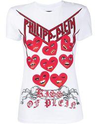 Philipp Plein Love Plein Tシャツ - ホワイト