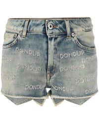 Dondup 'New Jude' Jeansshorts - Blau