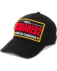 DSquared² - Бейсболка С Вышитым Логотипом - Lyst