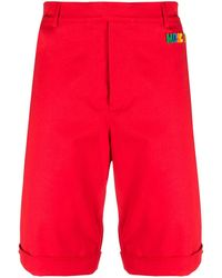 Moschino Bermuda Shorts - Rood