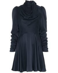 Zimmermann - Robe courte à design drapé - Lyst