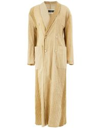 Uma Wang - Double Breasted Coat - Lyst
