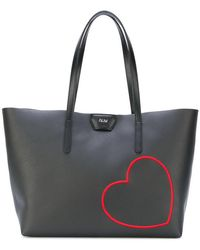 Gum - Embroidered Heart Tote - Lyst