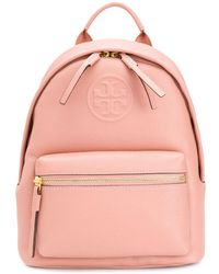 Tory Burch Perry Bombé バックパック S - ピンク