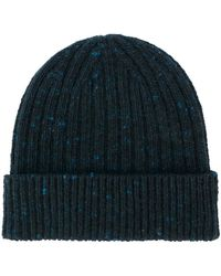 Pringle of Scotland - Ribbed Knit Beanie - Lyst