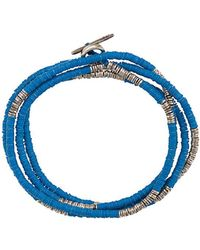 M. Cohen - Mini Disc And African Beads Bracelet - Lyst