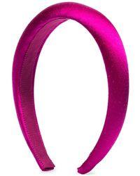 Jennifer Behr Pink Tori Silk Headband