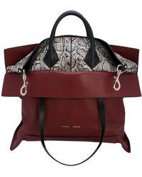 Proenza Schouler Large Elaphe Ps19 Tote Bag - Black