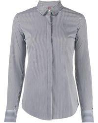 Tommy Hilfiger Gestreept T-shirt - Blauw