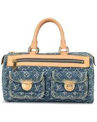Louis Vuitton 2006 プレオウンド ネオ スピーディ ハンドバッグ - ブルー