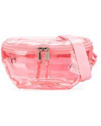 Eastpak Clear Belt Bag - Pink