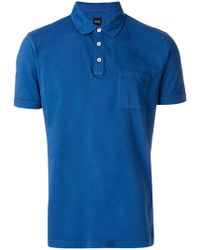 BOSS - Patch Pocket Polo Shirt - Lyst