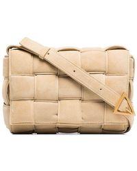 Bottega Veneta Cassette Padded Shoulder Bag - Natural