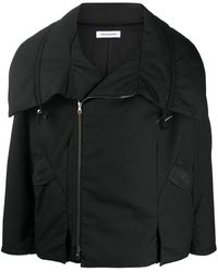 Kiko Kostadinov オーバーサイズカラー ジャケット - ブラック