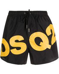 DSquared² - ロゴ トランクス水着 - Lyst