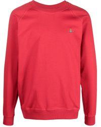 Vivienne Westwood ロゴ スウェットシャツ - レッド