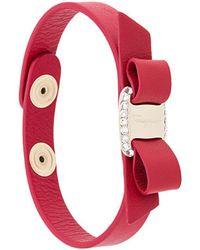 Ferragamo - Armband mit Vara-Schleife - Lyst