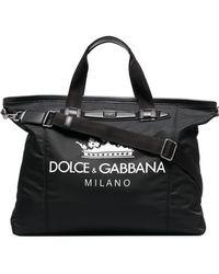 Dolce & Gabbana - Borsone con stampa - Lyst