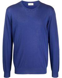 Altea ファインニット セーター - ブルー
