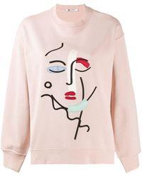 Ports 1961 Side-slit Sweatshirt - Pink