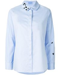 Macgraw - Heart Embroidered Shirt - Lyst