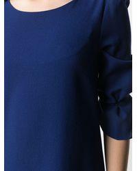 Goat Gem クレープ ドレス - ブルー