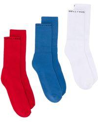 1017 ALYX 9SM Sock Set - Red