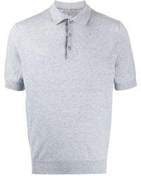 Canali Slim-fit Polo Shirt - Grey
