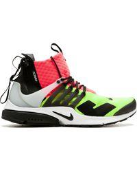 Nike X Acronym Air Presto Mid スニーカー - グリーン