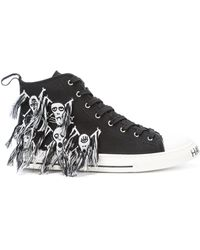 Haculla Skull High-top Trainers - Black