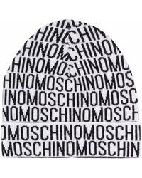 Moschino ロゴ ビーニー - ブラック