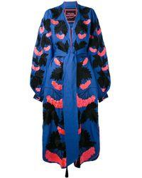 Yuliya Magdych 'kalyna' Dress - Blue