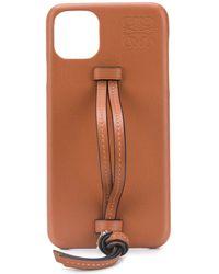 Loewe Чехол Для Iphone 11 Pro Max - Коричневый
