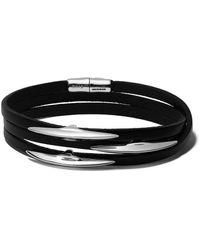 Shaun Leane Arc Wrap Leather Bracelet - Multicolor