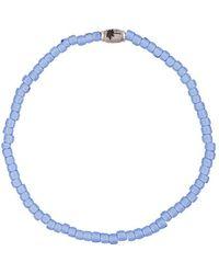 Luis Morais Pendant Bracelet - Blue