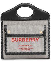 Burberry - Pocket バッグ ミニ - Lyst