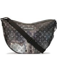 Louis Vuitton Alpha Hobo Bag - Black